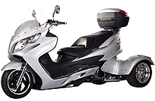 "Ice Bear 300cc Full Size Motor Trike ""TORNADO-300"" Automatic with Reverse (PST300C)"